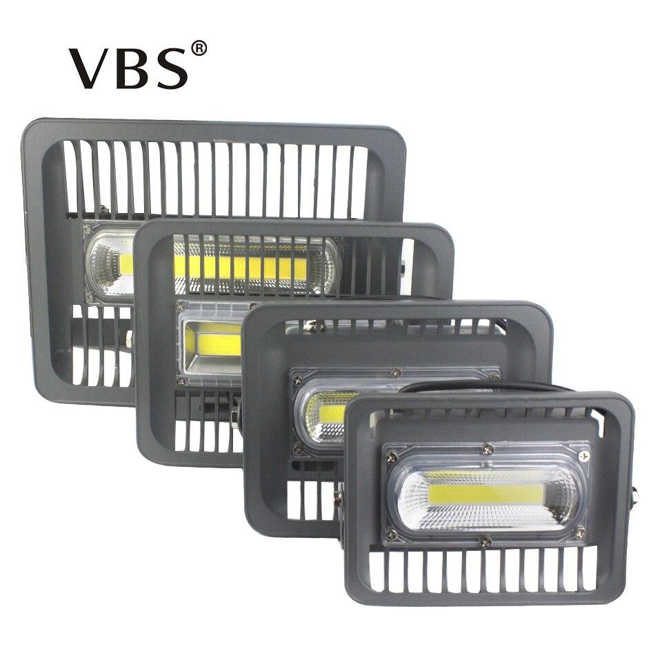 IP66 AC110V 220V 30/50/100/150W LED Flood Light COB Chip Replacement Waterproof Garden Wall Reflector Garage Car Repairing