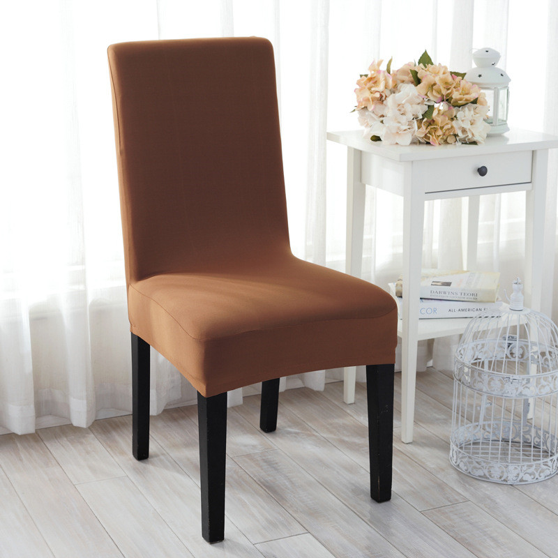 2pcs Lot Spandex Universal Elastic Cloth Chair Covers For Weddings Decoration Party Banquet Dining