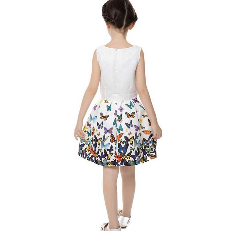 b9bd31abce New Bottoming Dresses Little Girls Summer Style Dress Vintage Cute Party  Vestidos Large Size Parenting Daughter Clothing MZ1545-in Dresses from  Women's ...