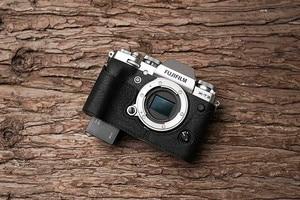 Image 5 - فوجي X T3 XT3 كاميرا Mr. Stone اليدوية جلد طبيعي كاميرا فيديو نصف حقيبة كاميرا ارتداءها