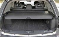 Aluminium alloy + Fabric Rear Trunk Security Shield Cargo Cover For Captiva 14 15 16 2014 2015 2016