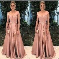 Elegant Mother of the Bride Dresses for Weddings 2019 Party Gowns A Line vestido de madrinha Formal evening dress Godmother