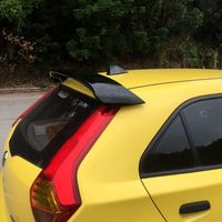 For MG 3 MG3 2010 2011 2012 2013 High Quality ABS Material Car Tail Wing Decoration Primer Color Rear Trunk Spoiler