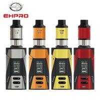 Оригинальный Ehpro Fusion 2 в 1 комплект 150 Вт модель TC коробка 4 мл двойной камеры распылитель RDTA металла 510 темы электронных сигарет Vape