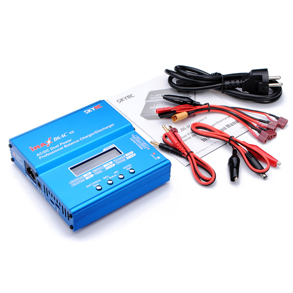SKYRC New iMAX B6AC V2 AC DC Dual Power RC Battery Professional Balance Charger Discharger for