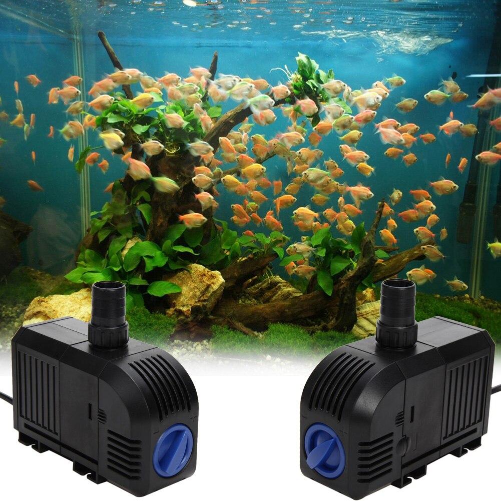Ultra quiet fish tank circulation water pump adjustable for Water pump fish tank