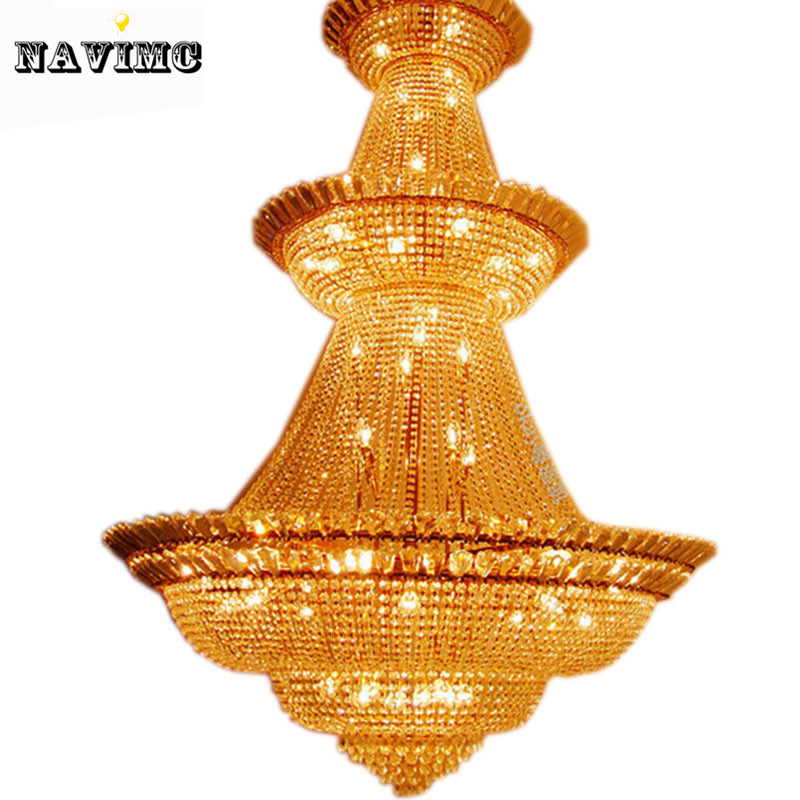 free shipping top sales silver color classic crystal chandelier foyer lightluxury crystal lamp - Foyer Chandeliers