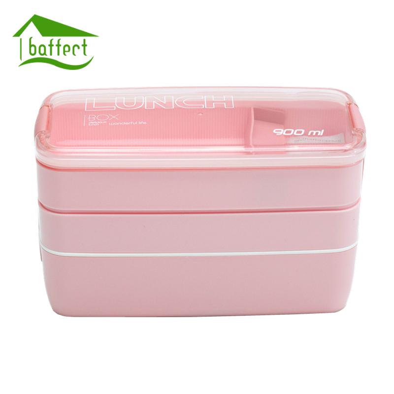 3 layer japanese slim bento lunch box food container bento lunchbox with carry lunch bag. Black Bedroom Furniture Sets. Home Design Ideas