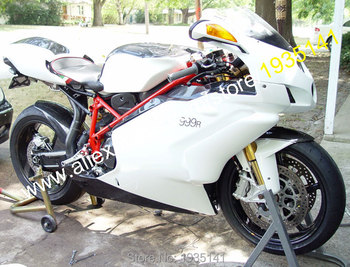 For Ducati 749 999 05 06 Parts 749S 999S 749R 999R 2005 2006 Black White Motorcycle Fairing Kit (Injection molding)