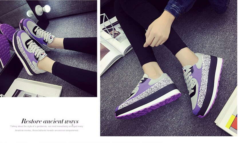 Free Shipping Spring and Autumn Men Canvas Shoes High Quality Fashion Casual Shoes Low Top Brand Single Shoes Thick Sole 7583 -  -  -  -  -