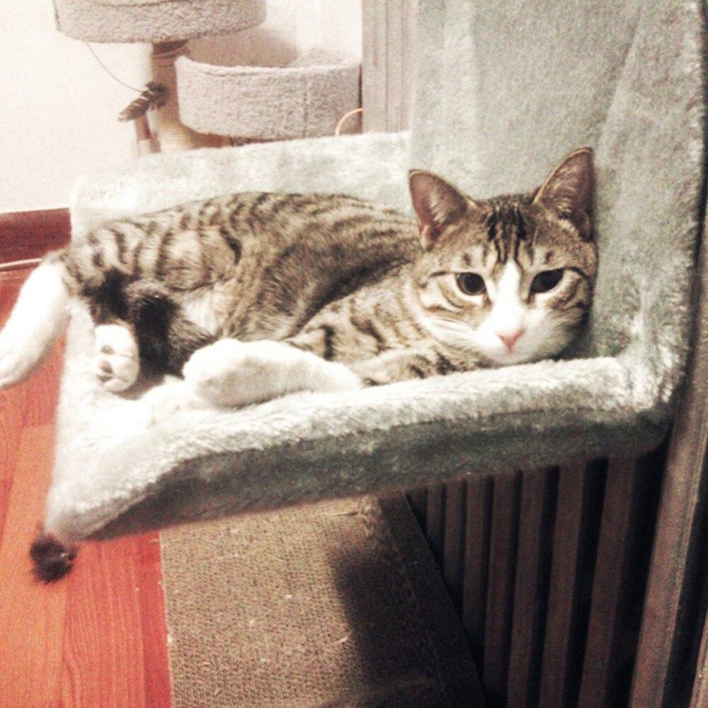 Portable chien pet chat hamac tapis coussin cage hamac hiver chaud polaire chat lit suspendu maison