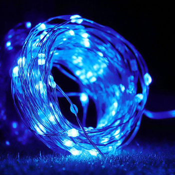 16 color changer garland Battery Powered LED String Lights with Remote Control Copper Wire curtain led Fairy Lights Christmas battery powered remote control private parking lock