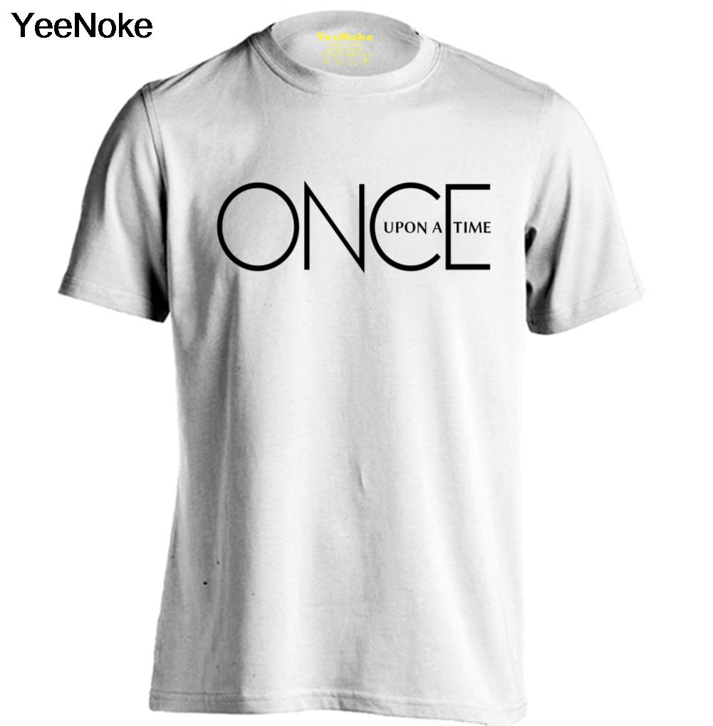 Once upon a time logo mens womens trendy t shirts for Trendy t shirts for ladies