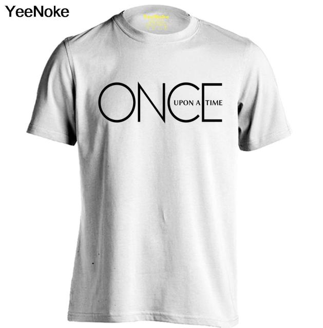 Once Upon A Time Logo Mens & Womens Trendy T Shirts Comfortable T ...