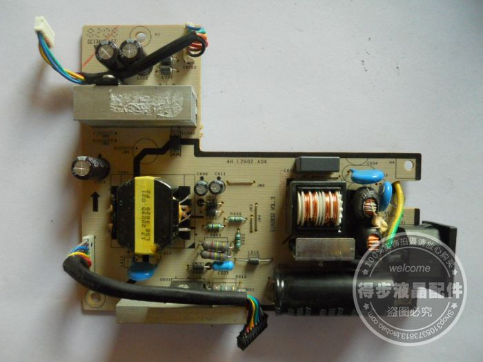 Free Shipping>100% Tested Working 2007FP power board 4H.L2H02.A06 power supply board test condition new package free shipping 100% tested working v193w ilpi 077 v193w high voltage power supply board plate 492031400100r
