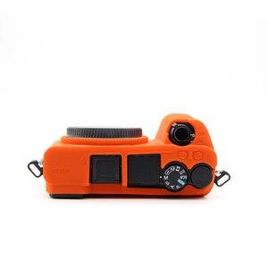 Image 5 - غلاف كاميرا سيليكون ناعم جلد واقي لحقيبة سوني a6500