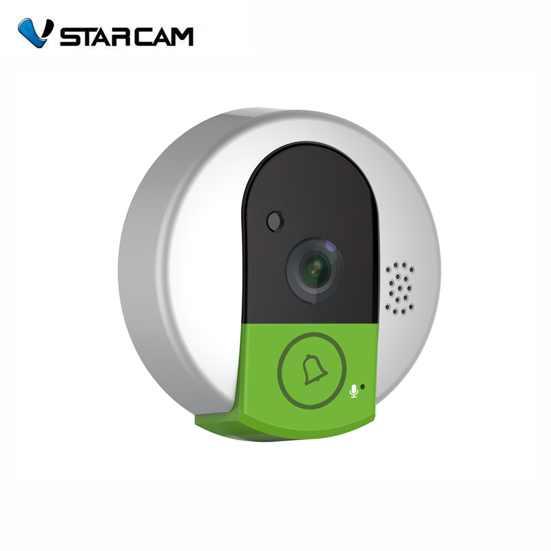 vstarcam Doorcam C95 IP door camera eye HD 720P Wireless Doorbell WiFi Via Android Phone Control video peephole door camera wifi us eu uk au plug ip door camera eye hd 720p wireless doorbell wifi video peephole wifi door camera 100 240v ac 75 73 27mm