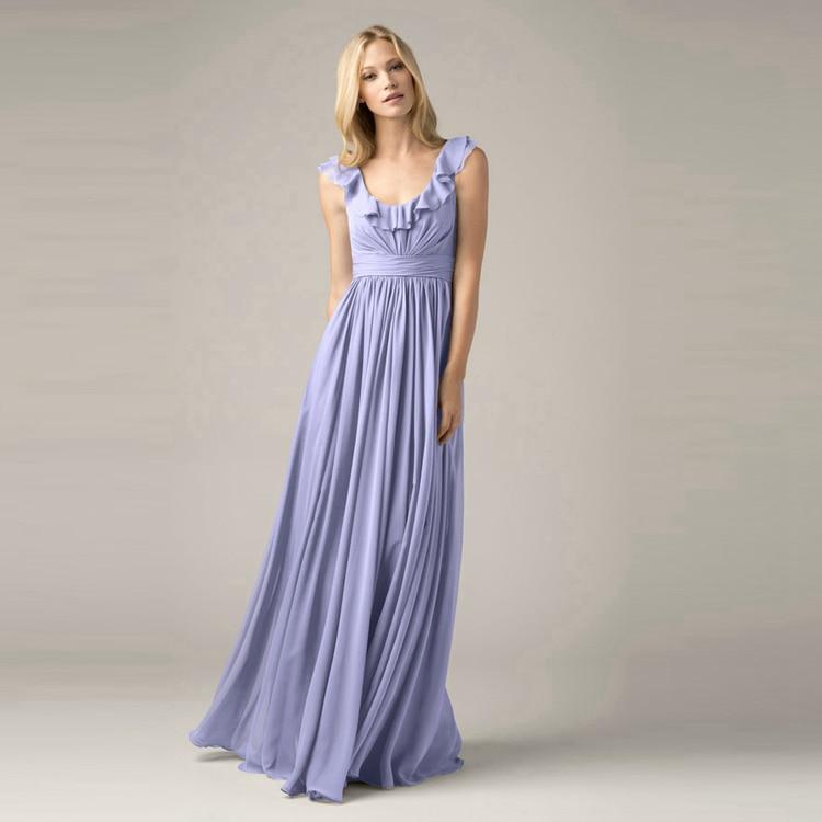Online get cheap semi formal dresses junior aliexpress for Sky blue wedding guest dresses