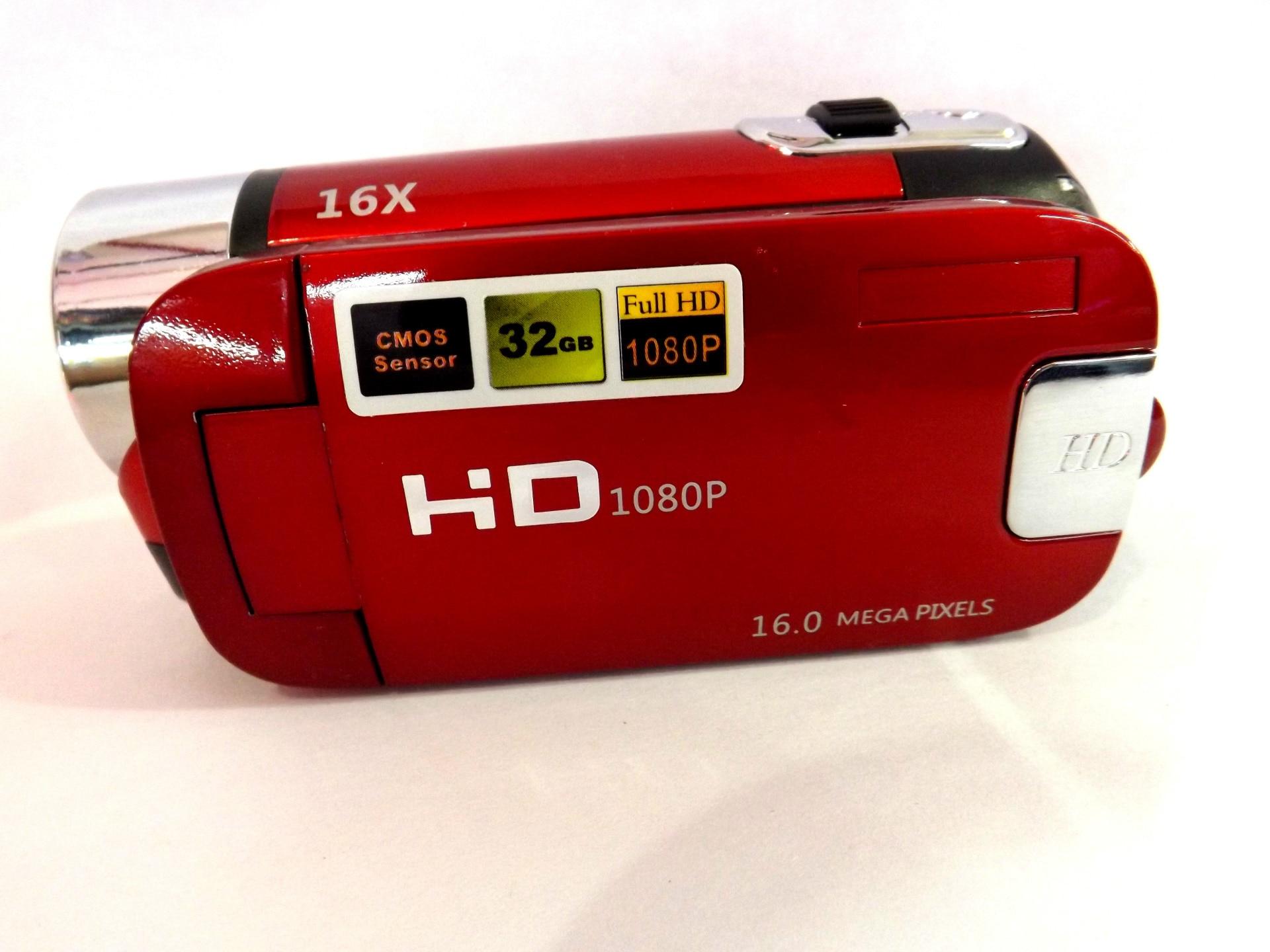 KaRue caméra vidéo numérique HD 1080P 32GB 16x Zoom Mini caméscope DV caméra prise en charge AVI 1080P 720P VGA - 4