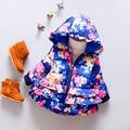 Bebé infantil chaqueta de algodón acolchado escudo bolero suave giacche neonati ponchos capes niños chaqueta femenina otoño clothing 50d049