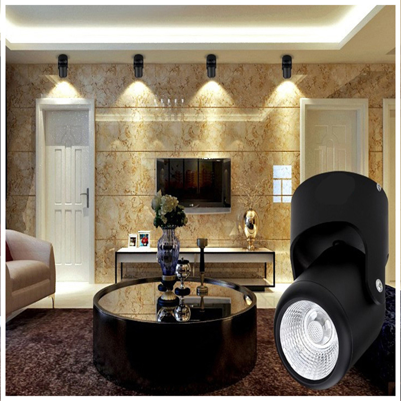 Ultra Bright 7w 12w Led Ceiling Wall Light Flush Mounted: Jiawen Ultra Bright 7W Spotlight Operated Convenient Light