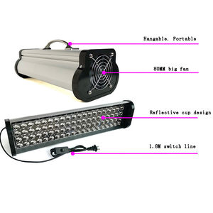 Image 3 - 400W LED portable UV colloid curing lamp Print head inkjet photo printer curing 395nm cob UV led lamp