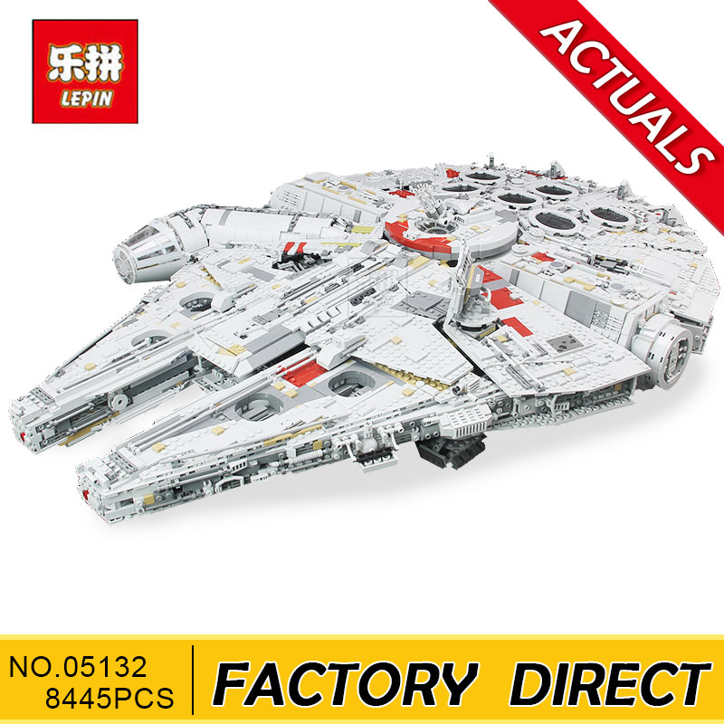 Lepin 05132 Star Plan Series 8445PCS The Ultimate Collector's Destroyer Set 75192 Building Blocks Bricks Christmas Gift Kid Toys конструктор lepin star plan истребитель набу 187 дет 05060