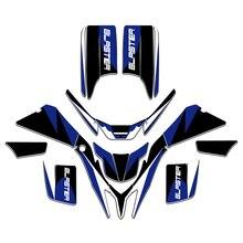 Стиль графические наклейки обёрточная бумага полный гоночный Набор для ATV Yamaha BLASTER 200 YFS200 1988-2006