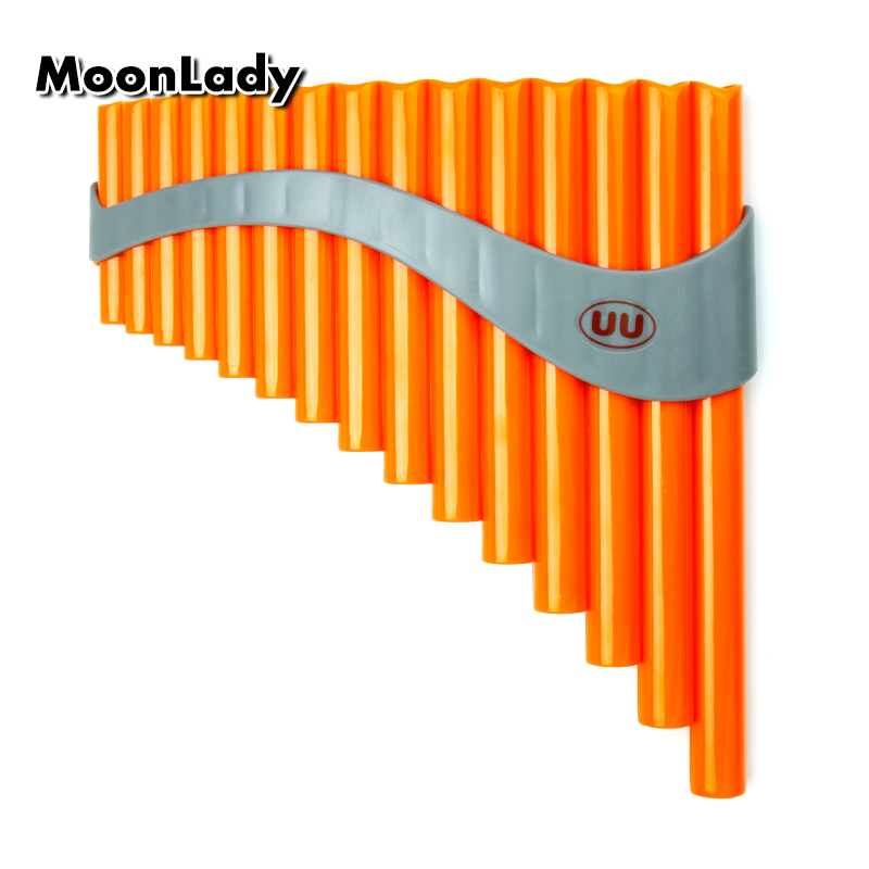 15 Pipes Pan Flute ABS Plastic Musical Instruments Key G Gold Woodwind Instrument Chinese Traditiona Pan Pipes Easy to Learn15 Pipes Pan Flute ABS Plastic Musical Instruments Key G Gold Woodwind Instrument Chinese Traditiona Pan Pipes Easy to Learn