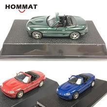 HOMMAT 1:43 Mazda MX 5 спортивная модель автомобиля, Коллекционная модель автомобиля из сплава, Коллекционные Подарочные игрушки для мальчиков