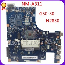 цена на KEFU ACLU9 / ACLU0 NM-A311 motherboard For Lenovo G50 G50-30 Laptop Motherboard  Test motherboard DDR3 with N2840 CPU Onboard