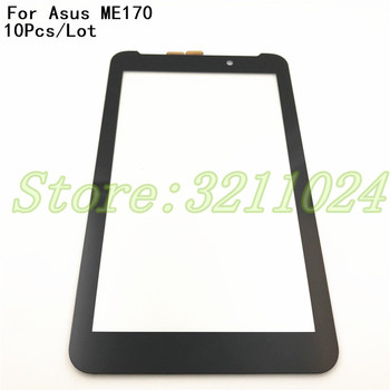 10Pcs/Lot 7'' Touch Panel For Asus Fonepad 7 FE170CG ME170C ME170 K012 Touch Screen Digitizer Glass Sensor Replacement Parts