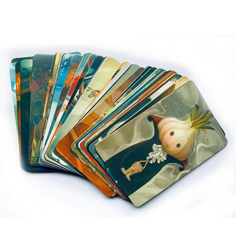 Иллюстрации, карты, игры Origins/Daydreams/Memories версия для детей 3-6 игроков, семейная настольная игра, развивающие 84 карты