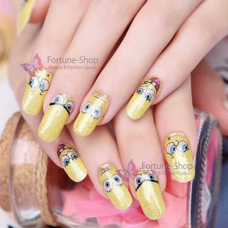 Beauty Stickers Full Cover Nail Decals Water Transfer Printing Nail ...