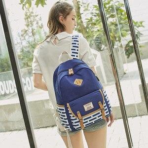 Image 3 - Yeni kadın sırt çantası USB sırt çantaları okul gençler için çanta kızlar Laptop sırt çantası mochila feminina öğrenciler çantası