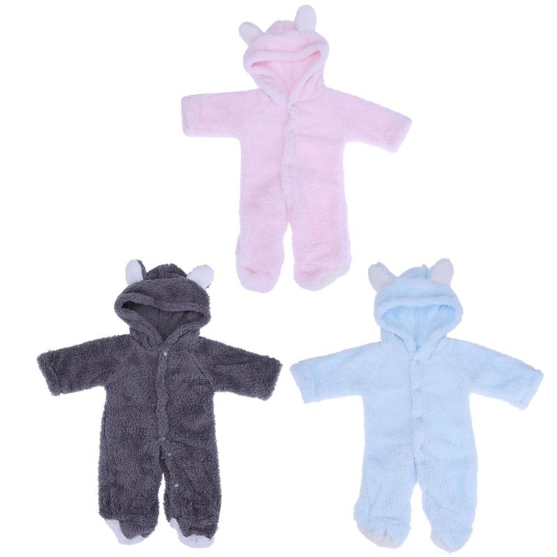Winter One Piece Baby Animal Hooded Long Sleeve Romper Newborn Crawling Jumpsuit Clothing Soft Warm Fleece Infant Toddler Outfit puseky 2017 infant romper baby boys girls jumpsuit newborn bebe clothing hooded toddler baby clothes cute panda romper costumes