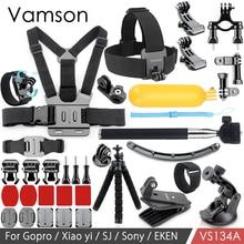 Vamson for Gopro Hero 6 5 4 Accessories Kit Mini Tripod Wrench Adapter Mount Floaty Bobber for Yi Lite for Eken for SJCAM VS134