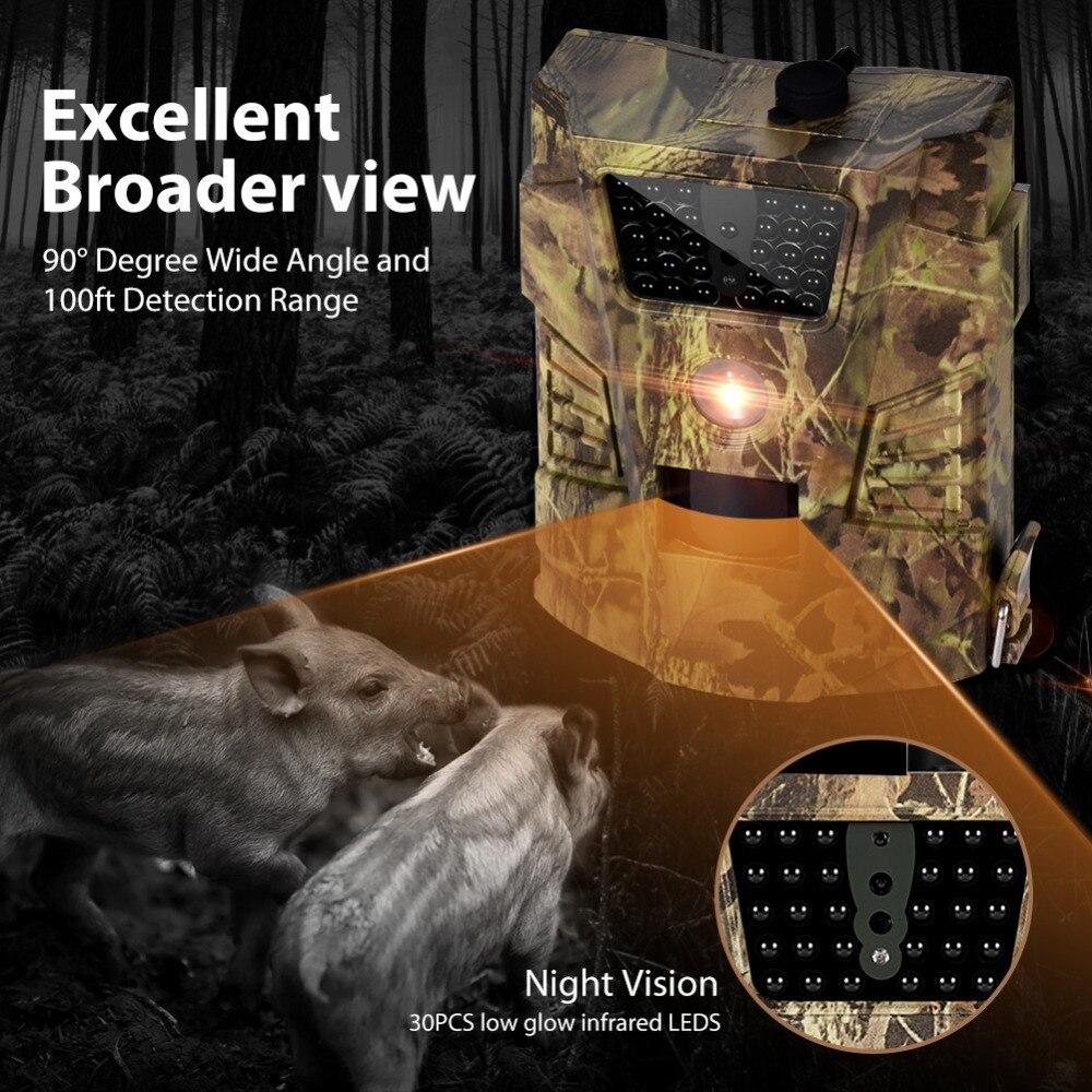 12mp 1080 p trail caça câmera wildcamera