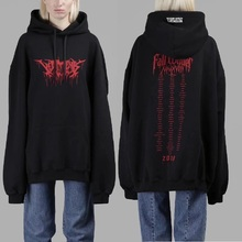 New VETEMENTS Hoodies Men Women Stranger Things Streetwear Cotton Sweatshirts Embroidery Gothic Hoodie