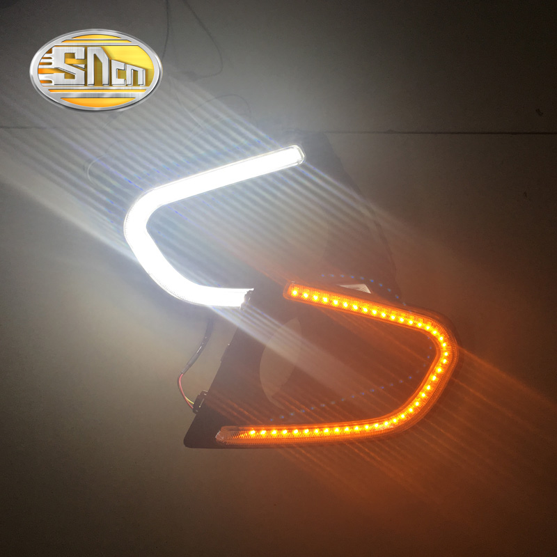 SNCN LED Daytime Running Light For Chevrolet Trax 2014 2015 2016,Car Accessories Waterproof ABS 12V DRL Fog Lamp Decoration one stop shopping for k2 drl 2014 2015 new rio led drl k2 daytime running light fog lamp automotive accessories