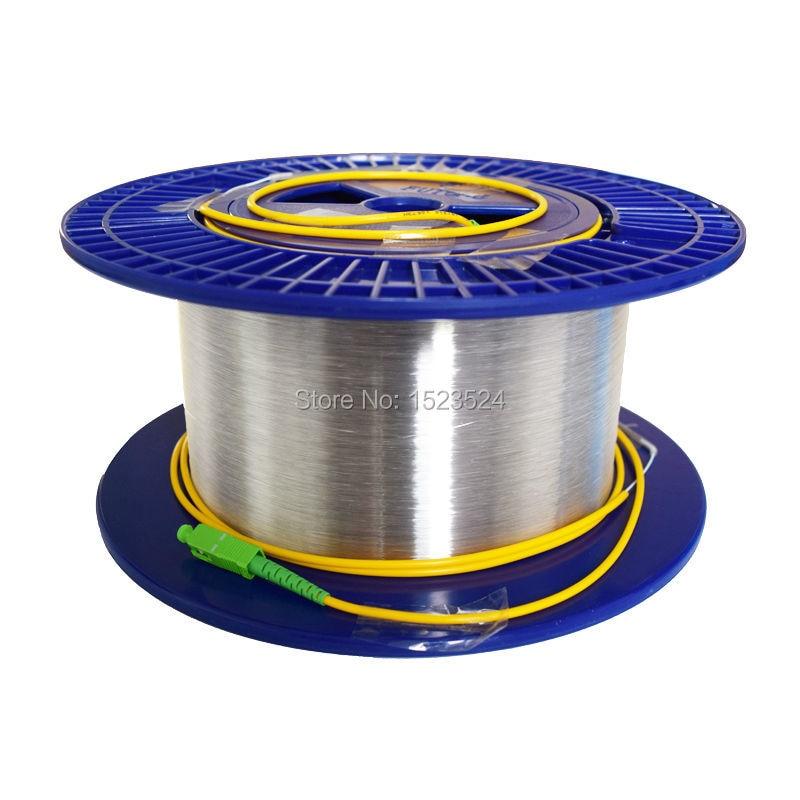 Fiber Optic OTDR Launch Cable Singlemode 9/125um 2km