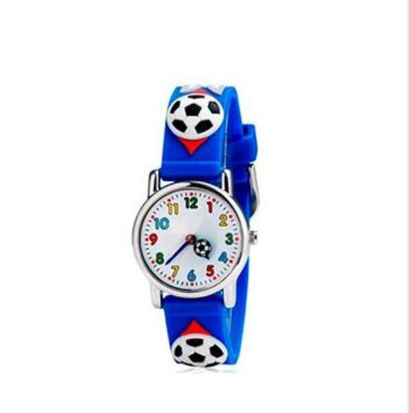 Kids Watches Children Silicone Wristwatches football Brand Quartz Wrist Watch Baby For Girls Boys Fashion Casual Reloj