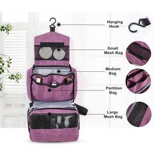 Image 4 - Multi Funzione Sacchetto Di Immagazzinaggio Hanging Organizer Da Viaggio Impermeabile Dei Bagagli Portatile Organizzatore Bagno di Cortesia Cosmetici Sacchetti di Trucco