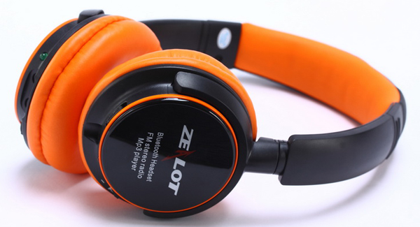 Zealot B380 Portable Bluetooth Headphone Micro SD Player Wireless Headset with Rechargeable Battery Support FM Radio