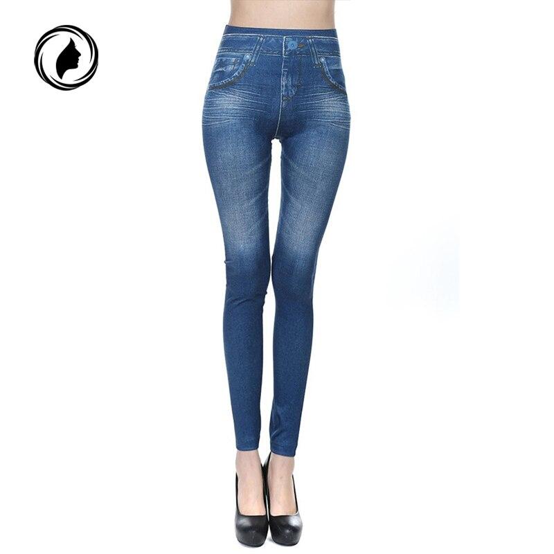 Caliente pantalones vaqueros para mujer Pantalones con bolsillo para cuerpo cachemir de vaquero Slim Leggings Mujer Fitness más tamaño 2018 nuevo
