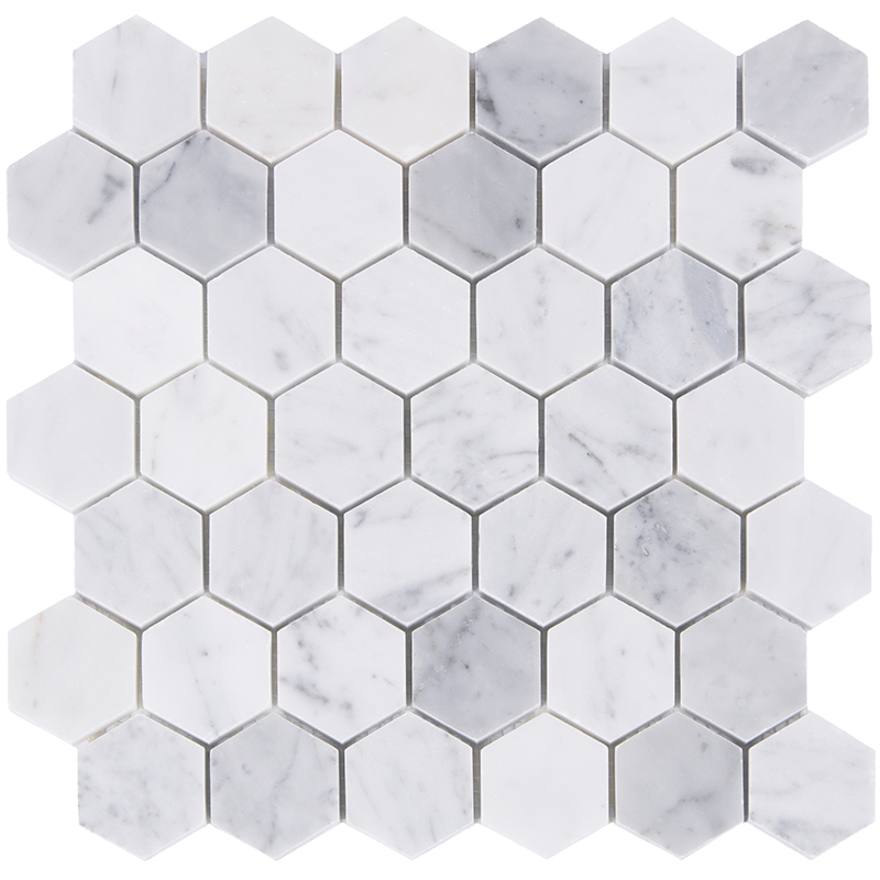 Home Improvement Hexagon Carrara Marble Stone tiles,Kitchen Backsplash,Bathroom Shower Wall/Floor decor,Free Shipping,LSMBH08 home improvement marble stone mosaic tiles natural jade style kitchen backsplash art wall floor decor free shipping lsmb101