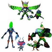 YENI Oyun Ratchet & Clank Kaptan Qwark, Dr. Nefarious, Zırhlı Cırcır Action Figure Koleksiyon Maskot Oyuncaklar