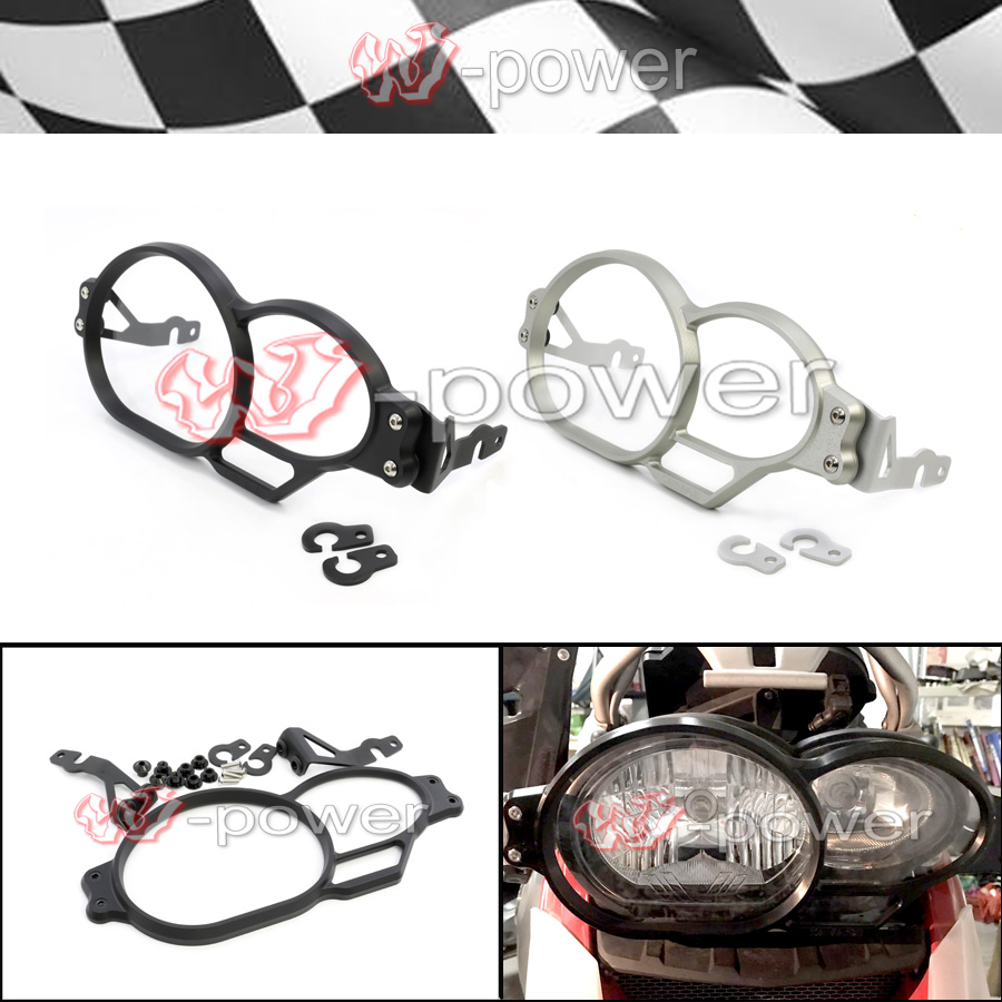 Motorcycle Headlight Guard Protector For BMW R1200GS LC 2005-2012, R1200GS Adventure LC 2006-2013 r1200gs motorcycle headlight grill guard cover protector for bmw r 1200 gs r1200gs adv adventure r 1200gs 2012 2016