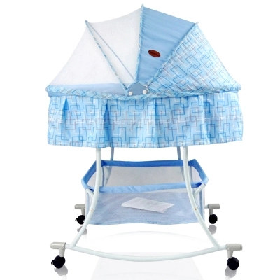 Table light with mosquito nets baby cradle, wrought iron bed children portable crib fashion electric baby crib baby cradle with mosquito nets multifunctional music baby cradle bed
