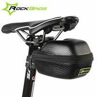 ROCKBROS Road Mountain Bike Bicycle Bag Cycling Saddle Bag MTB Seatpost Basket Waterproof Tail Rear Bag